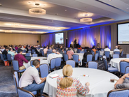 The keynote sessions were well attended, offering insights to big picture trends.
