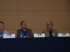 Among the presenters at the Fleet Safety Conference was HDT's Jim Park (far right).