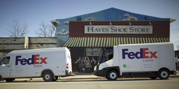 FedEx Express is rolling out 4,000 new vehicles, many of which are Mercedes BlueTEC clean diesel...