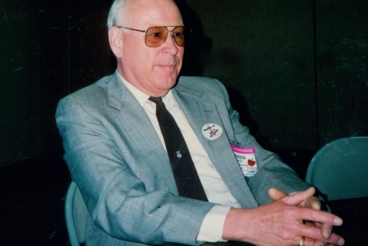A. Warren Feirer, retired fleet manager for Nabisco Brands Inc., former NAFA president, and 2014...