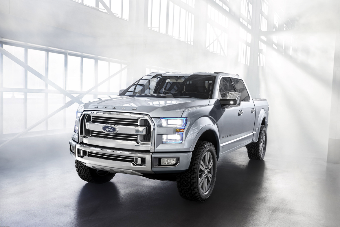 Ford's new Atlas Concept features a next-generation EcoBoost engine that uses direct injection...
