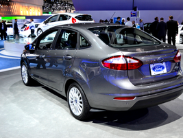 Ford also offers a four-door sedan version of its all-new 2014-MY Fiesta.