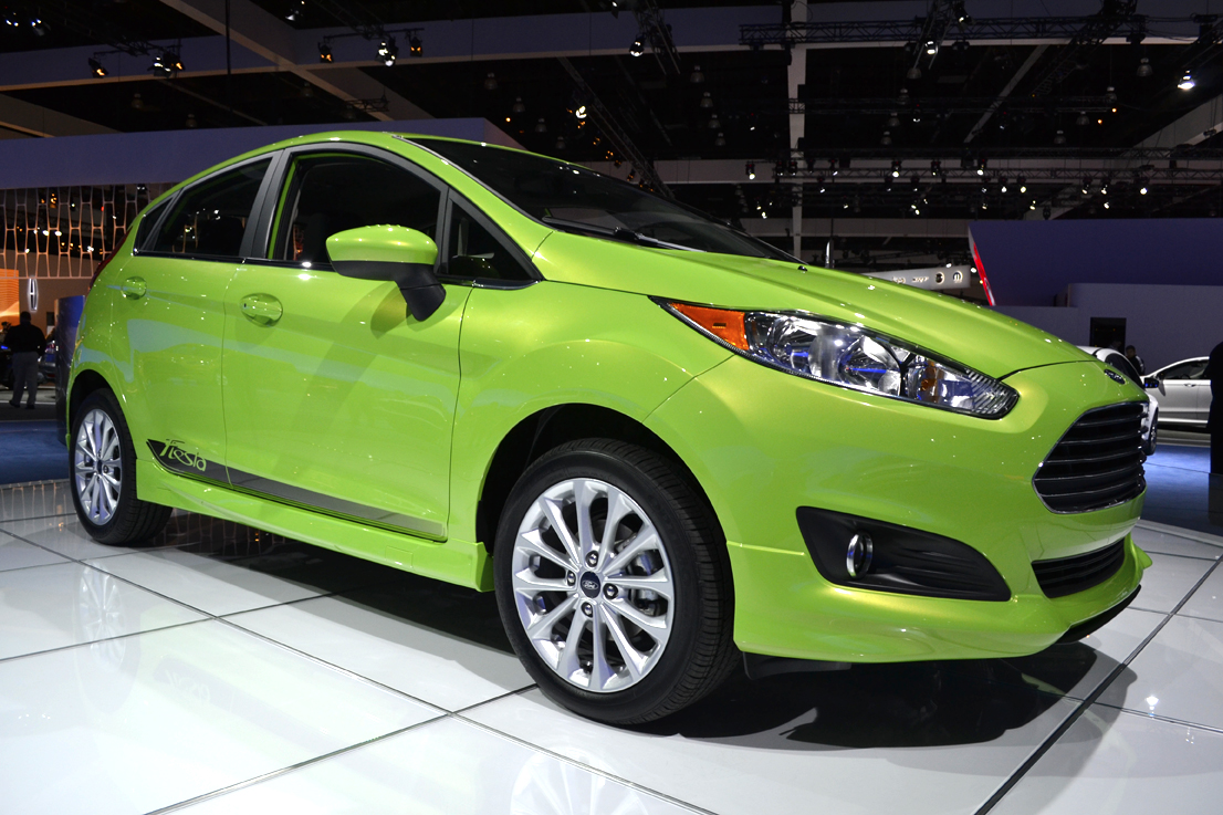 Ford is projecting 30 city, 40 highway mpg for its SFE 1.6L-equipped 2014-MY Fiesta.