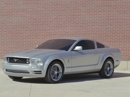 The fifth-generation Mustang released in 2005 included a more noticeable front grille and...