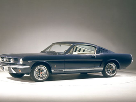This model is a 1968 Mustang GT Fastback.