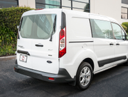 The Transit Connect offers standard side windows for improved visibility.