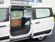 The cargo area is accessible via a pair of side sliding doors.