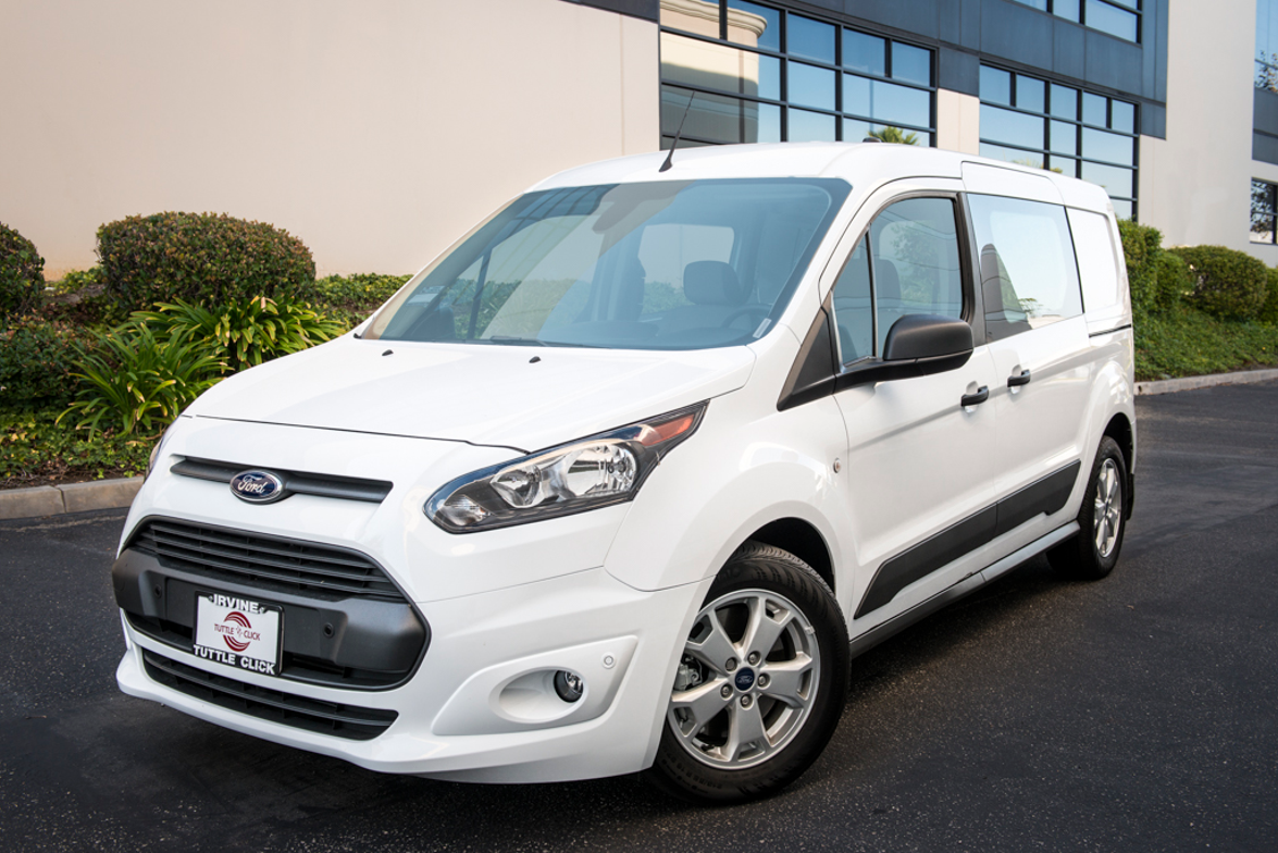 Ford introduced sleeker body lines for the Transit Connect in the 2014-MY redesign.