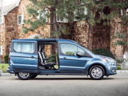 The Transit Connect Wagon offers two wheelbases with two or three rows for five or seven people.
