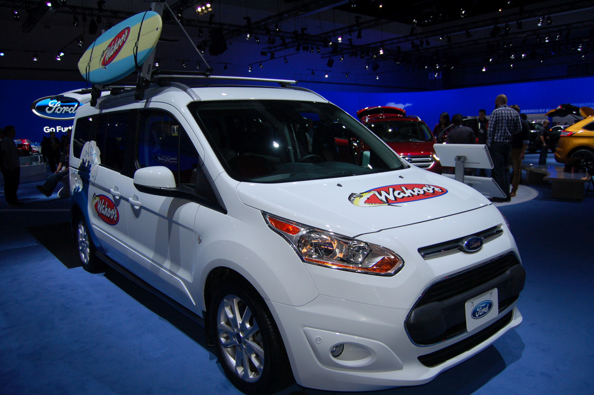 Ford Transit Connect upfitted for Wahoo's Tacos