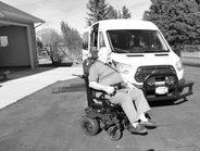 Eighty-six-year-old Forrest Baker explores the Pacific Northwest with the help of his...