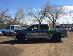 The second stop was in Fort Collins, Colo. (PHOTO: Alliance AutoGas)