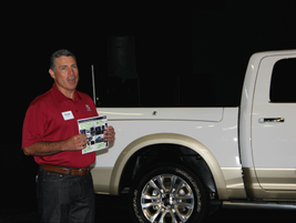 Fred Diaz, president and CEO of Ram Truck Brand, provided the media with an overview of the...