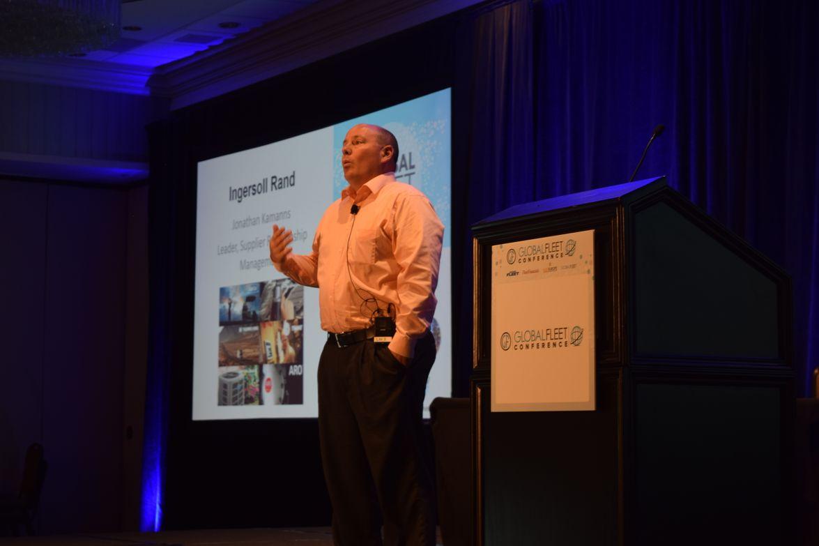 Jonathan Kamanns, supplier relationship management leader, Ingersoll Rand, presented a case...