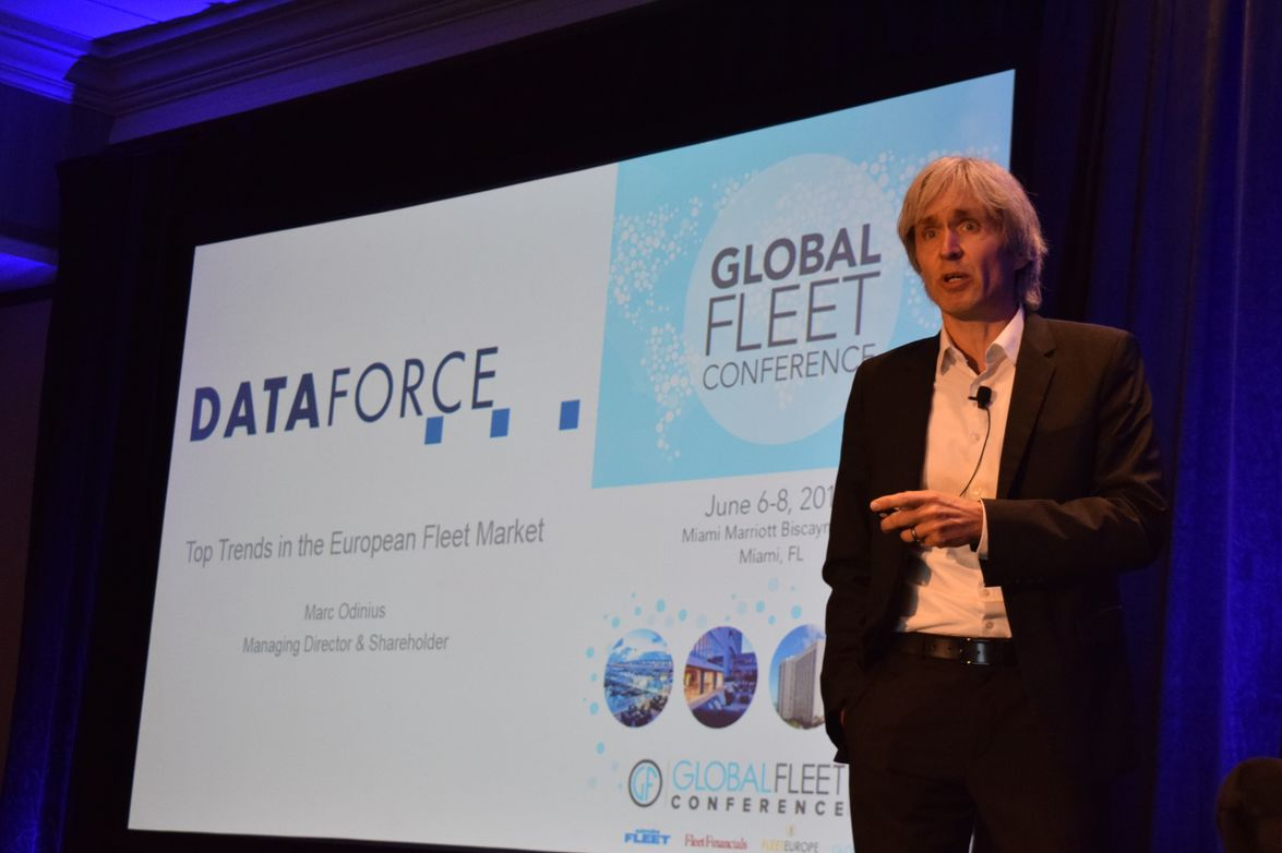 Marc Odinius, managing director and shareholder, Dataforce GmbH, presents amarket report on top...