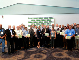 All of the Government Green Fleet winners in attendance.