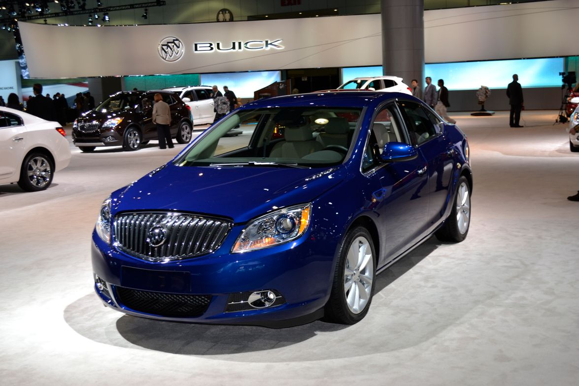 GM's Buick brand had its 2013-MY Verano at the show, which features an Ecotec 2.0L turbocharged...