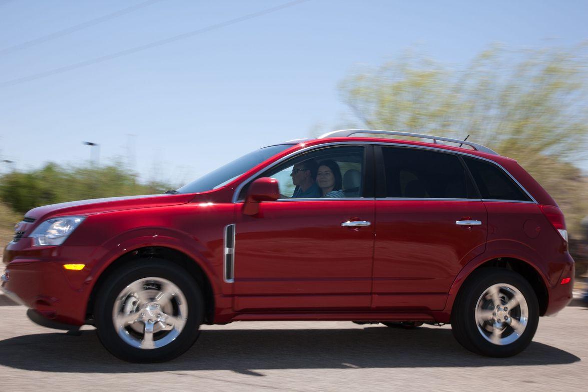 The Chevrolet Traverse.