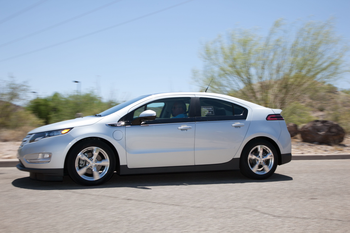 The 2013 Chevrolet Volt features an electric-only range of38 miles. GM also increased MPGe from...