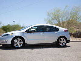The 2013 Chevrolet Volt features an electric-only range of 38 miles. GM also increased MPGe from...
