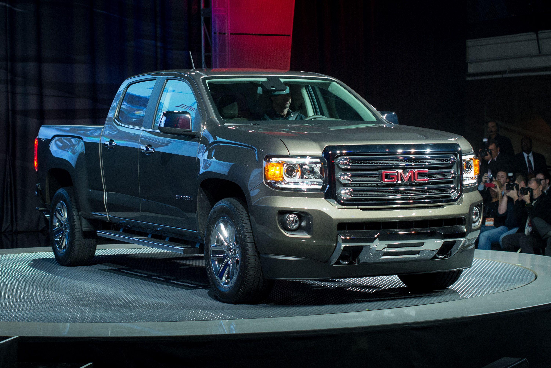 2015 GMC Canyon Mid-Size Pickup