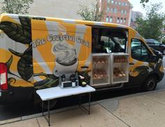 The Grateful Grail (@gratefulgrail) mobile coffee shop cruises around Baltimore, Maryland,...
