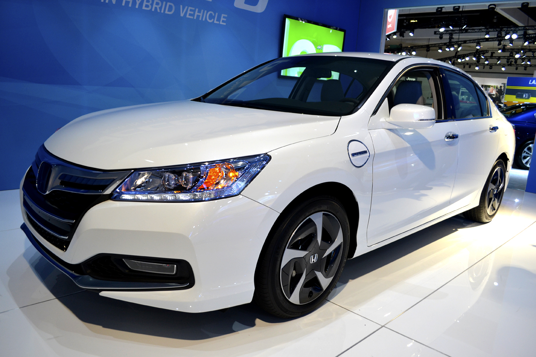 Another Honda model at the show was the automaker's new 2014-MY Accord plug-in hybrid.
