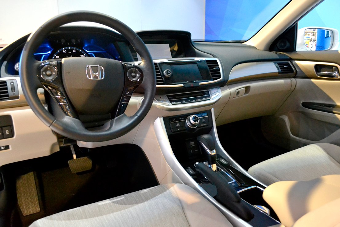 The Accord plug-in hybrid gets an EPA-estimated 115 miles-per-gallon equivalent, according to...