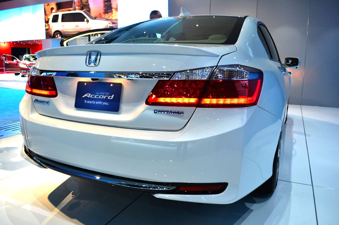 The Accord plug-in hybrid will qualify for HOV-lane use in California, according to Honda.