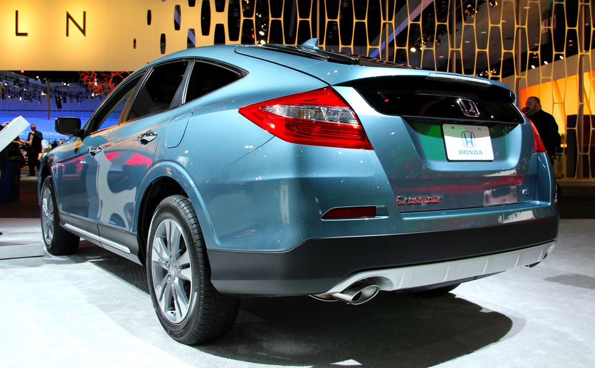 "The 2013-MY Honda Crosstour offers the automaker's new ""Earth Dreams"" 3.5L V-6 as one of its..."
