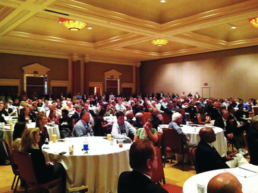 The IARA opening breakfast was standing-room only for the keynote address by Manheim President...