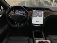 The Model S has a 17-inch touchscreen that controls most of the vehicle's functions, and...