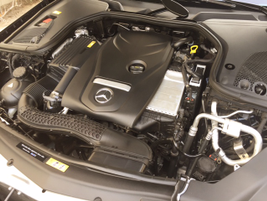 The E300 is powered by a 2.0L inline-four that makes 241 hp.