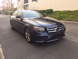 The fifth-generation E-Class is a sleeker sedan with a 150-pounds weight reduction.