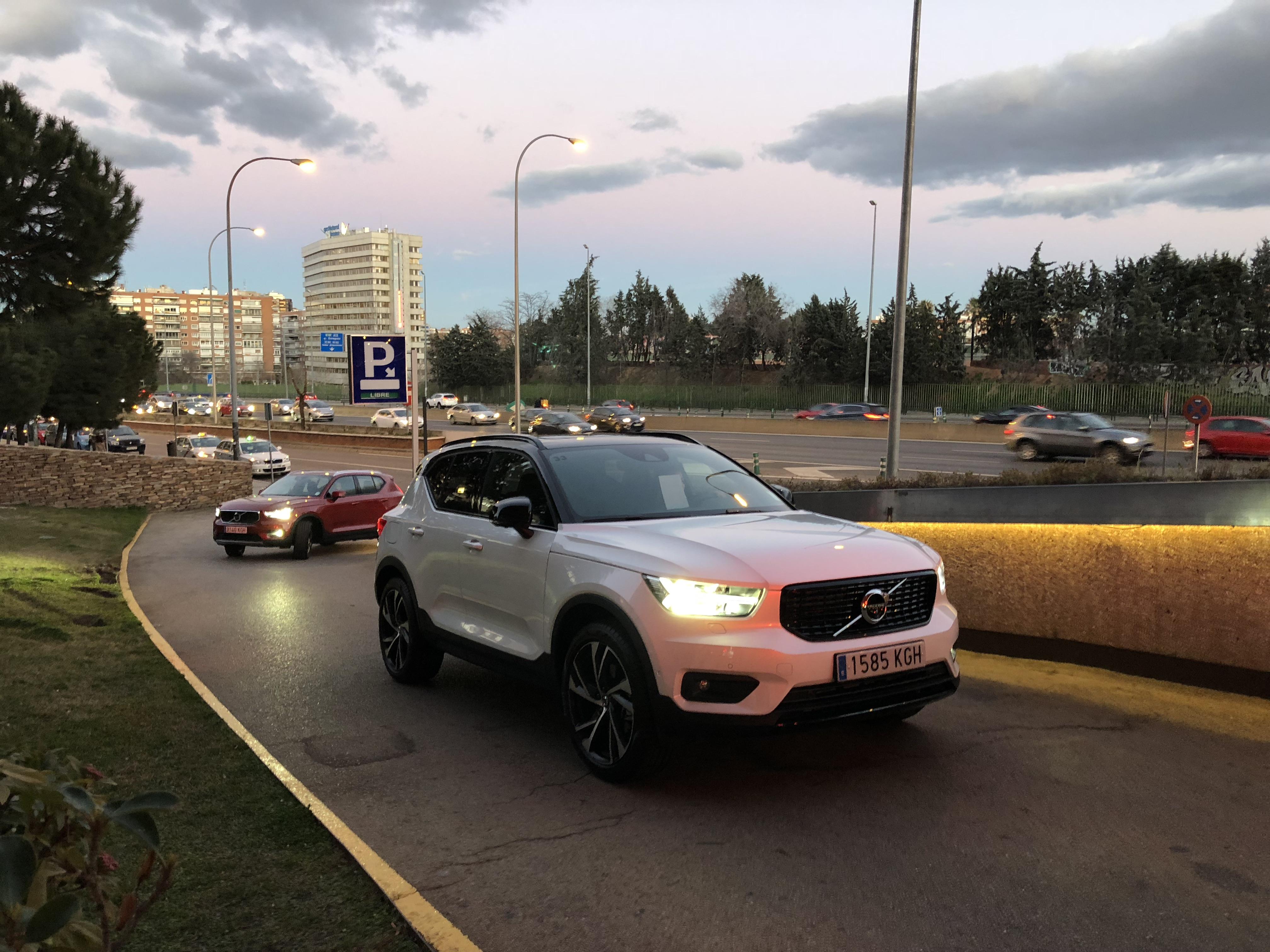Volvo's XC40 Fleet DriveLab Event