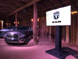 The product demonstration included a presentation on the Ram 1500 cab, which is built of 54%...
