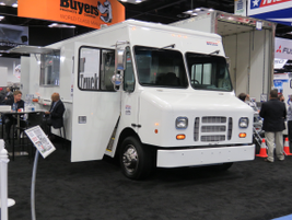 Morgan Olson has cooked up this new food-truck design. Photo: David Cullen