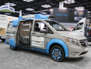 Mercedes-Benz Metris van displayed as handy toolbox. Photo: David Cullen