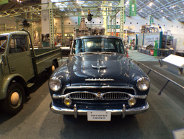 The Toyopet Crown was introduced in 1955.