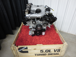 The Nissan Titan XD is powered by a 5.0L Cummins V-8 Turbo Diesel, which produces 310 hp and 555...