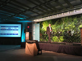Chris Conroy, president and CEO of ARI and Holman Business Services, opened the second day of...