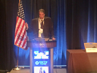 NETS Executive Director Joe McKillips gave a state-of-the-association presentation to attendees...