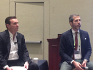 Aaron Baxter (left), CEO of Custom Fleet in Australia and New Zealand, moderated the global...