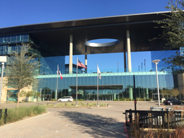 The all-new $1 billion corporate headquarters for Toyota Motor North America is comprised of...