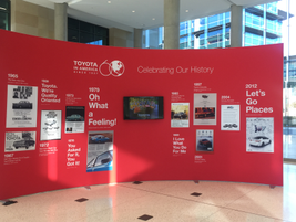 Toyota will celebrate is celebrating its 60th anniversary in the U.S. Toyota first entered the...