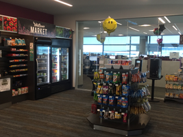 There are self-serve markets throughout the TMNA headquarters to serve company team members. The...