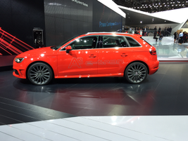 Audi's A3 e-tron is a compact luxury hatchback and plug-in hybrid.