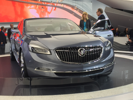 """GM's Buick Avenir Concept luxury sedan borrows its name from the French word for """"future."""""""