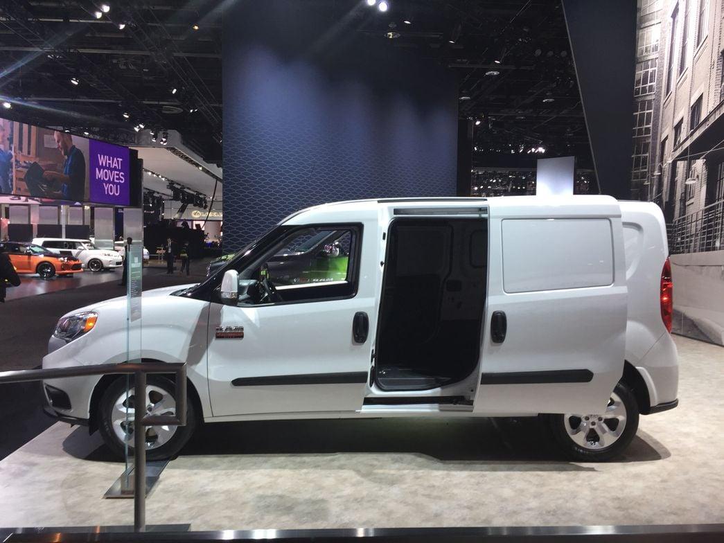 FCA's 2015 Ram ProMaster City compact van