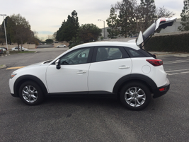Side view of the CX-3